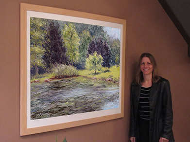 reduce stress, healing art, healthcare art, nature art for healthcare, art for hospitals, art for medical centers, Hudson Valley Hospital art, Liron Sissman