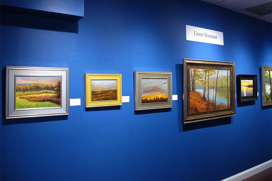 Liron Sissman art, Geary Gallery, Darien, CT