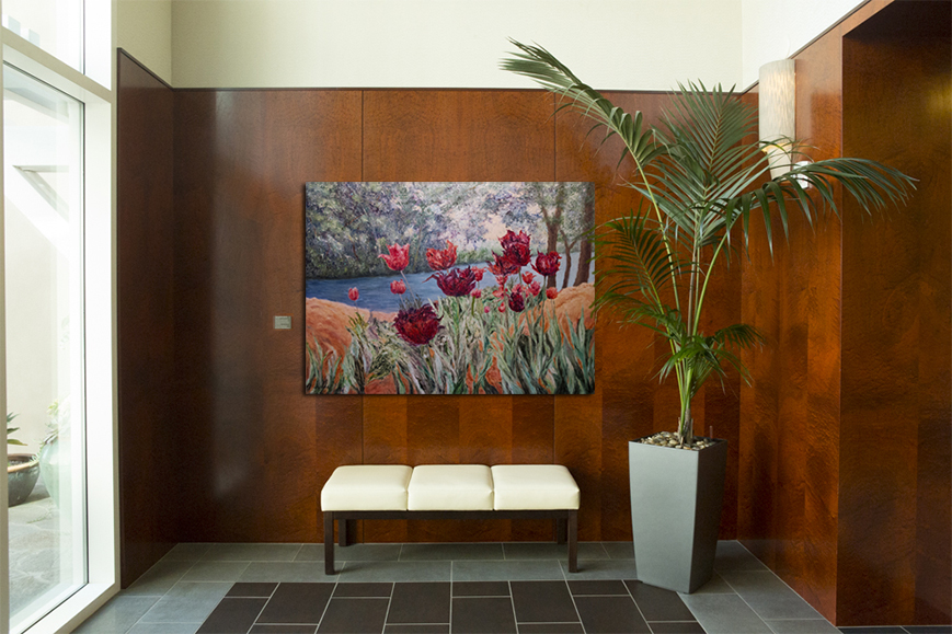 art leasing, corporate art, art for lobby, conference rooms, executive offices, movie sets, Liron Sissman