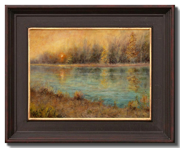 Evening Glow by Liron Sissman at The American Artists Professional League Grand National Exhibition