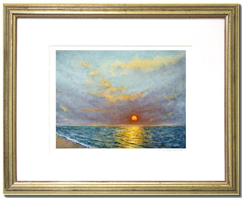 Ocean Sunset Painting By Liron Sissman Fine Art Prints