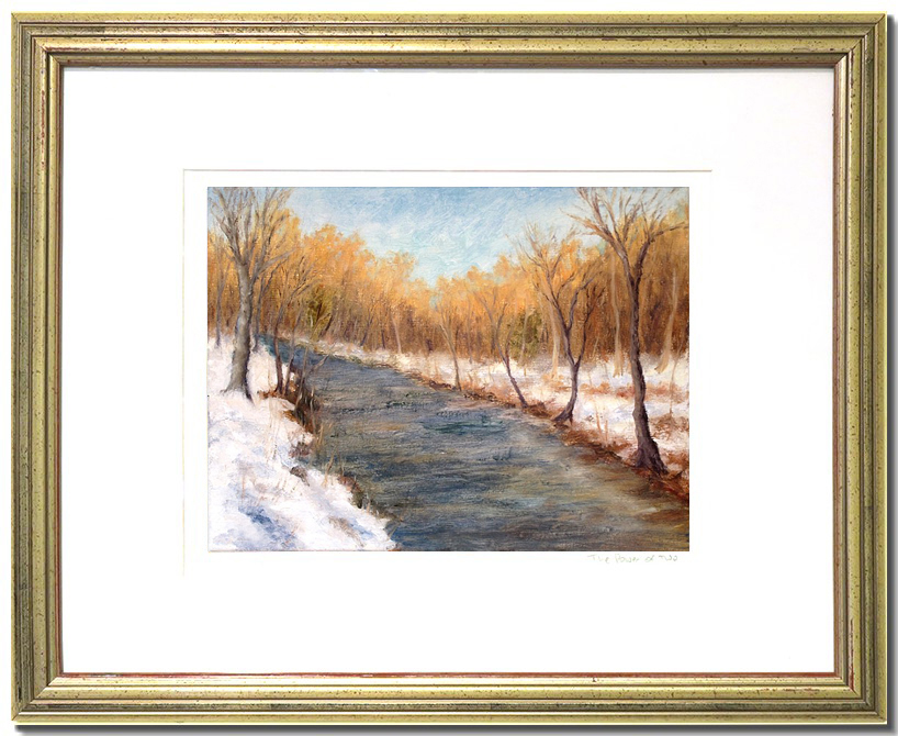 Winter Poetry Liron Art That Elevates Paintings And